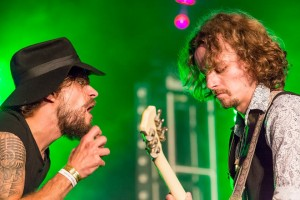 LaVendore Rogue, Maryport Blues Festival,­ Saturday 26th July 2014