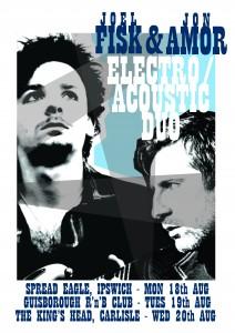 Joel Fisk & Jon Amor Electro Acoustic Duo